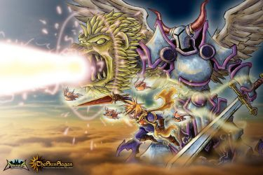 Golden Sun Tribute - The Sun Sagas by Patrick-Theater