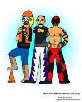 Shane Storm, Mike Quackenbush, and Jigsaw by MikeIrizarryJr
