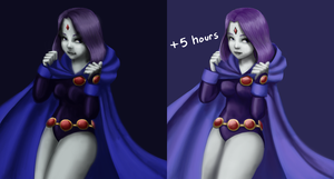 Raven WIP by BananimationOfficial