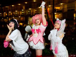 CGL Madoka cosplay fun 4 by SNTP