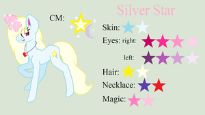 Silver Star color guide by MlpSilverStar