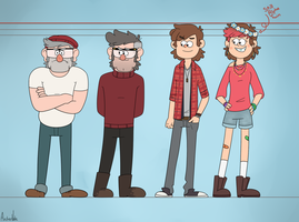Pines Height Chart by ArcherVale