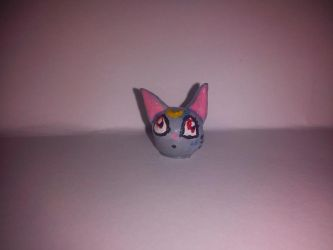 Diana Cat Head by moonie-creations
