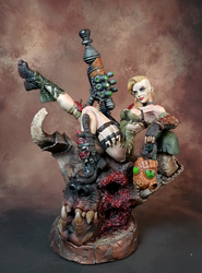 Vixens of the Wasteland: The Trophy Hunter by AnalogEnvy