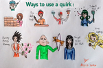 Ways To Use A Quirk by AlexisYoko