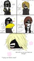 Trying out Reita's mask { the GazettE } by miyakeru