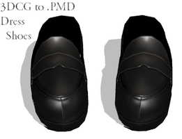 MMD- Dress Shoes -DL by MMDFakewings18
