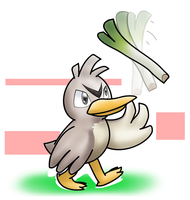 Farfetch'd by Zeroblack97