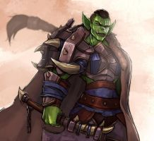 New Armour Same Orc by SurealKatie