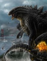 Godzilla in Alcatraz Final by sentinelprime99