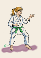Karate Shoujo by Erikku8