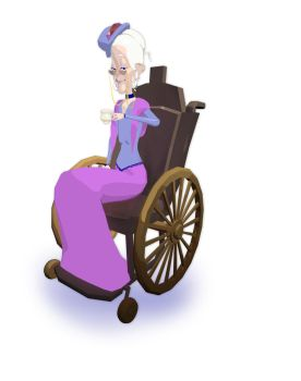 My second main character - the granny! by 3litza