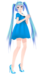 [MMD Download] TDA Cute Dress Miku by Mario-and-Sonic-Guy