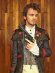 The Templar Agent (Assassin's Creed cosplay) by TimeyWimey-007