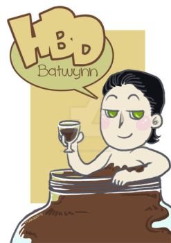 Loki: HBD Batwynn by TyaKo-and-Apple