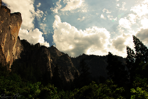Yosemite Mountains by Origami-Arts