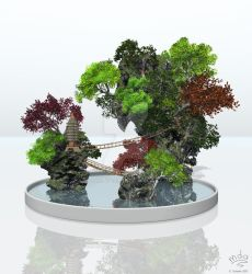 Penjing by Chromattix