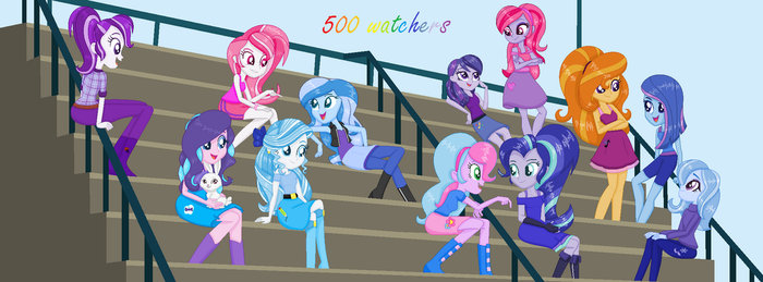 500 Watchers by Bluty21