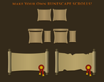 OSRS Scroll Template Pack by atagene