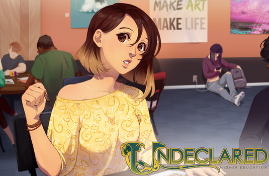 Undeclared: What are you Drawing? by Meirii