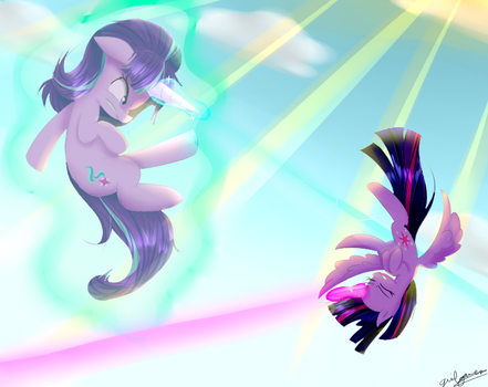 Twilight and Starlight2 by girlgamerlove02