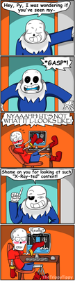 Papyrus Views X-Ray-ted Content by TheTrippyTippy