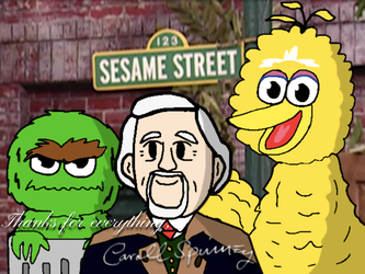 Caroll Spinney: Our Bird, Our Grouch... by BabyLambArts