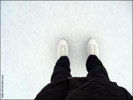 skates and ice by Aajla