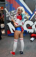 NYCC17 Harley Quinn D II by zer0guard