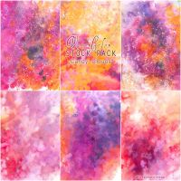 Candy Clouds - WATERCOLOR STOCK PACK by RoryonaRainbow