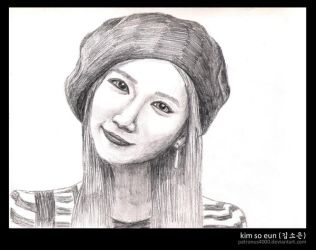 Kim So Eun by patronus4000
