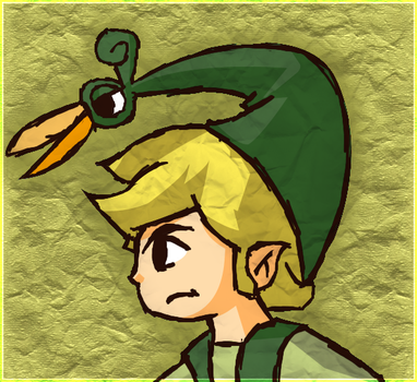 Link - Minish Style by Purple-Neon