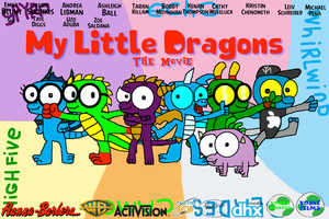 My Little Dragons: The Movie (2018 Film) by macloud34100