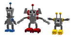 Lego Mixels: Alloynians by DarkTidalWave