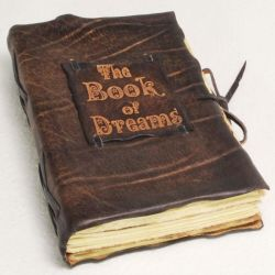 Brown book of dreams by gildbookbinders