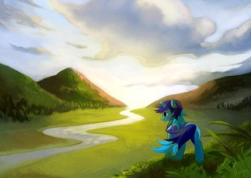 Commission-Light Shine by amy30535