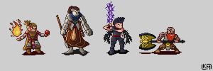 DnD Adventuring Party #2 by RollToNotDie