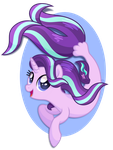 Starlight Glimmer Seapony by equinepalette