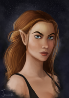 Feyre Archeron - High lady of the Night Court by jessicarix