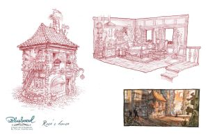 Rose's house by petura