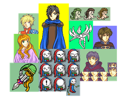 2013 sprites and doodles. by blazt01