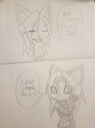 Hello Darkness, My Old friend (funny comic) by BinkaKitty