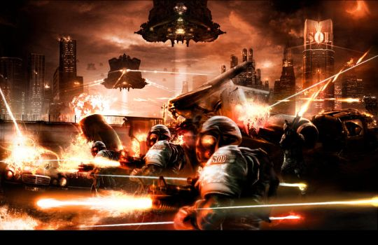 S.o.d marines assault by Chnufis