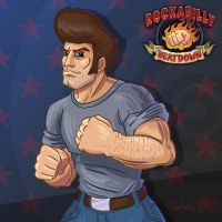 Bruiser McFist, Rockabilly Beatdown by SuperEdco