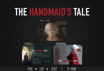 The Handmaid's Tale Folder Icon by Eanzito