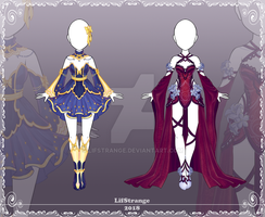 [Close] Adoptable Outfit Auction 186-187 by LifStrange