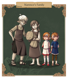 CT - NPC Namnco's Family by Dante-Aran