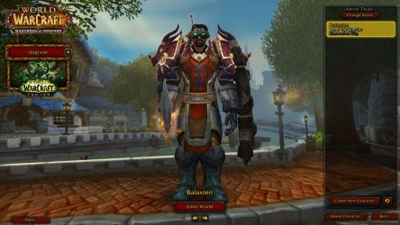 My First Submisson: My World of Warcraft Avatar by bepop34