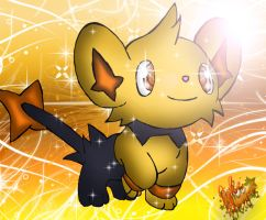 Shiny Shinx .:contest entry:. by PokeHeart