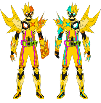 Kamen Rider Ex-Aid Maximum Muteki Gamer LV XX by JoinedZero